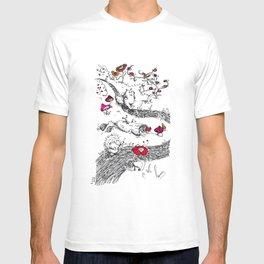 Animals wood T-shirt