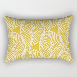 Petaluma, yellow Rectangular Pillow