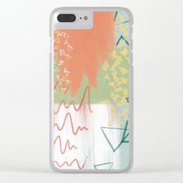 campire three Clear iPhone Case