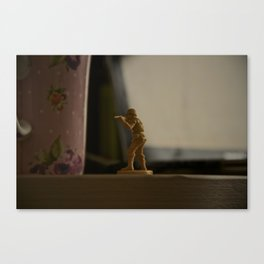Alone Stand  Canvas Print