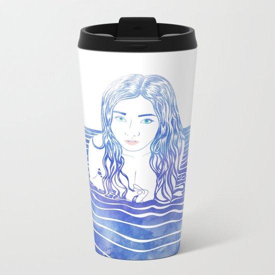 Water Nymph LIII Metal Travel Mug