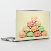 french Laptop & iPad Skins featuring French Macarons by Cassia Beck