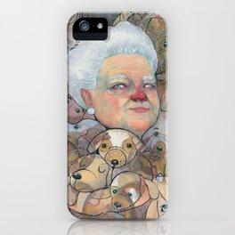 Miss Puppy iPhone Case