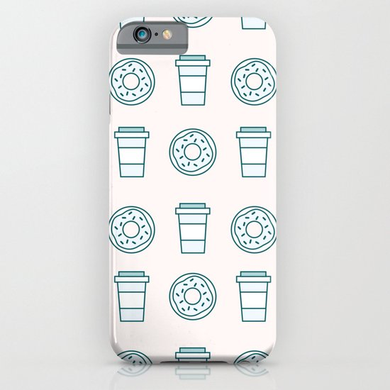 Coffee and Donuts iPhone & iPod Case