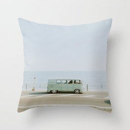 let's go somewhere ii Throw Pillow