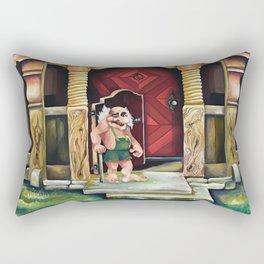 Equinus Scandinavian troll Rectangular Pillow