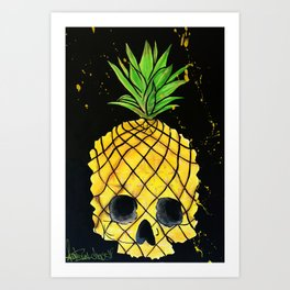 Skullpine Art Print