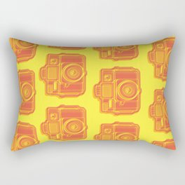 I Still Shoot Film Holga Logo - Yellow & Red Rectangular Pillow