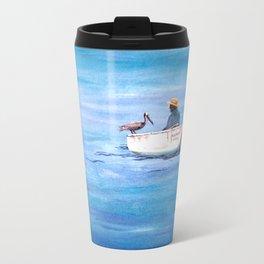 The Fisherman of Bonaire Travel Mug