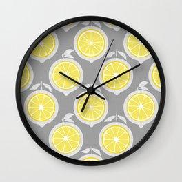 Lemon Mod Wall Clock