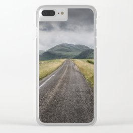 A Road in the Wilderness Clear iPhone Case