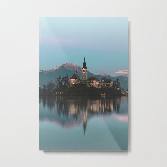 Bled, Slovenia III Metal Print