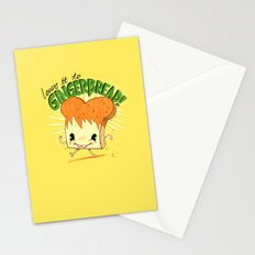 GingerBread Stationery Cards