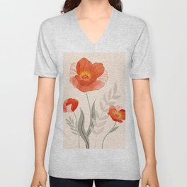 Summer Flowers II Unisex V-Neck
