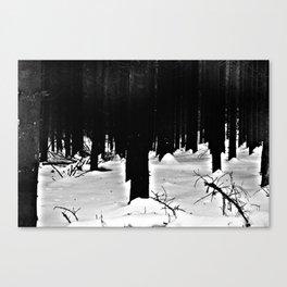 Forest Dark VIII Canvas Print