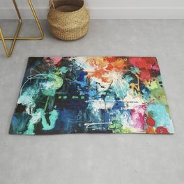 Colors Collide Rug