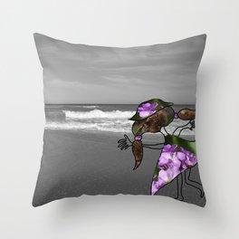 Photo bomb 1 Throw Pillow