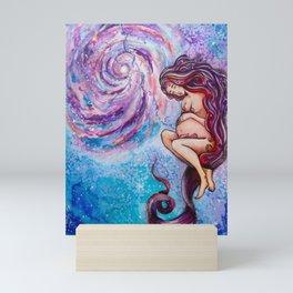 Placenta Galaxy Mini Art Print