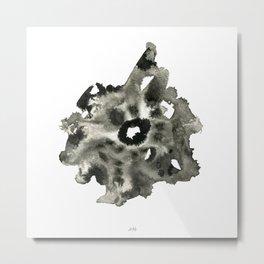 Watercolor Stump Metal Print