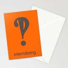 Interrobang, Serif Stationery Cards