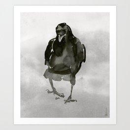 Common Crow [1] Art Print