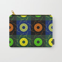 Floral squares Carry-All Pouch