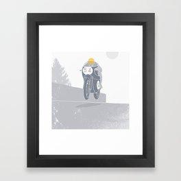 54 Framed Art Print