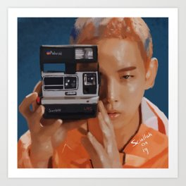 Kibum Camera Art Print