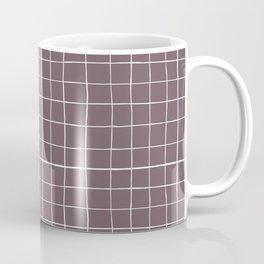 Dusty purple plaid Coffee Mug