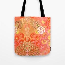 Orange Fizz Tote Bag