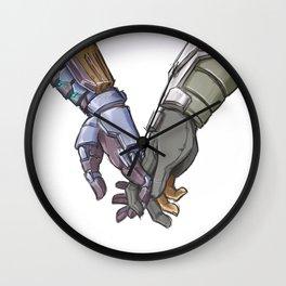 Hands Wall Clock