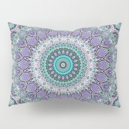 Vintage Lace Mandala Pillow Sham