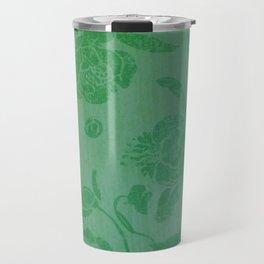 beautiful green flowers Travel Mug