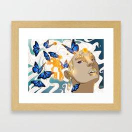 Butterflies Amazon Framed Art Print