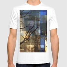 Posterize Dead Trees Mens Fitted Tee White MEDIUM