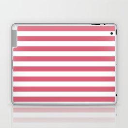 Large Nantucket Red Horizontal Sailor StripesLarge Nantucket Red Horizontal Sailor Stripes Laptop & iPad Skin