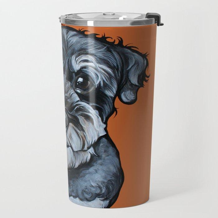 Frankie the Schnoodle Travel Mug
