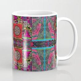 180 multicolored blue border Coffee Mug
