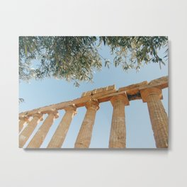 The Ancient Agrigento Temple Metal Print