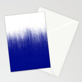 Ink Blue Ombré Stationery Cards