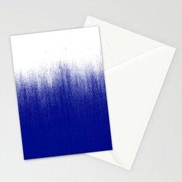 Ink Blue Ombré Stationery Cards
