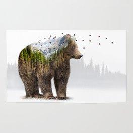 Wild I Shall Stay   Bear Rug