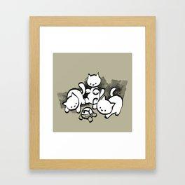 minima - mow Framed Art Print