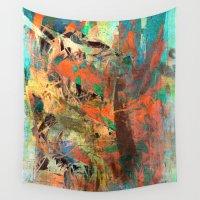 shiva Wall Tapestries featuring Huáscar and Atahualpa by Fernando Vieira