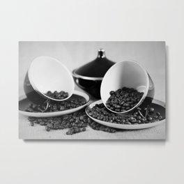 Kaffee Metal Print