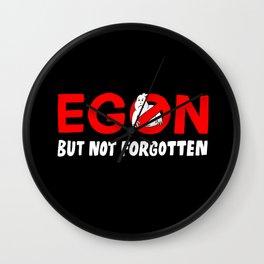 Egon but not forgotten  Wall Clock