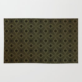Archaic geometry. seamless pattern Rug