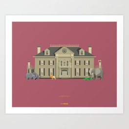Jumanji House Art Print
