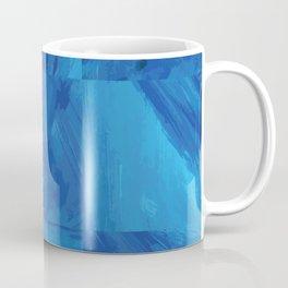 Nine Blue Squares Coffee Mug