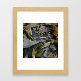 The ground is made of glass Framed Art Print